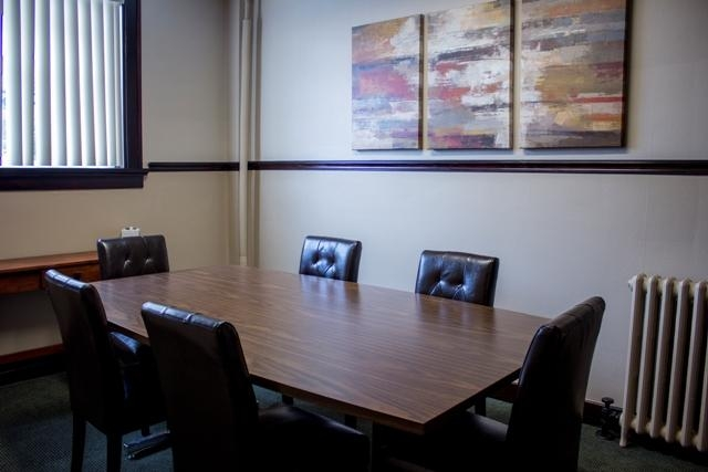Photo, conference Room, Attorney Matt Michaels